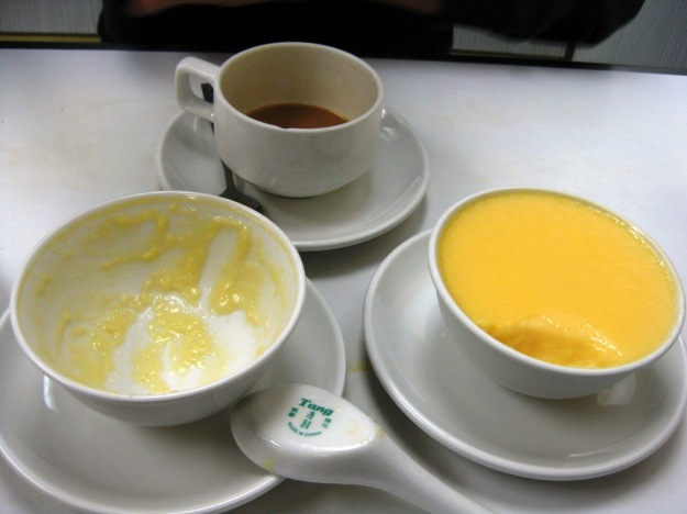 dun dan (steamed egg custard awesome)