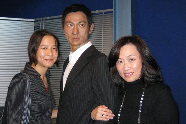 me, Andy Lau, and Auntie Stella