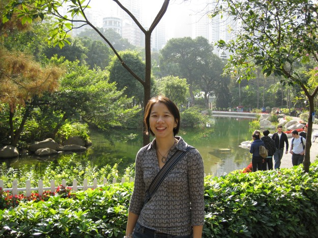 Jan 12 - Hong Kong Park.